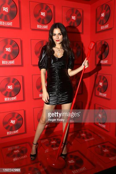 Actress and singer Victoria Justice attends the Red Light Grammy Party 2020 at BOA Steakhouse on January 26 2020 in West Hollywood California