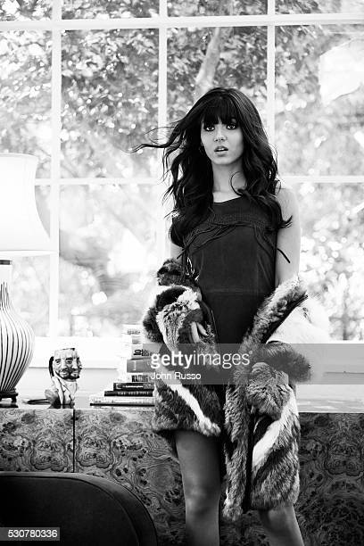 Actress and singer Victoria Justice is photographed for Venice Magazine on January 1 2016 in Los Angeles California