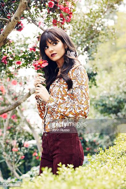 Actress And Singer Victoria Justice Is Photographed For Venice Magazine On January 1 2016 In Los