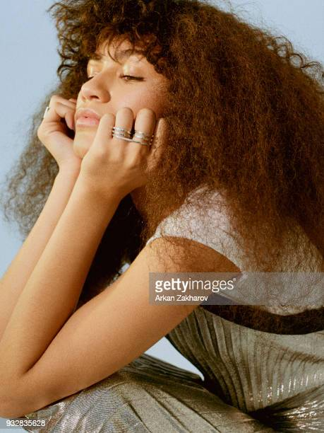 Actress and singer Zendaya is photographed for Fashion magazine on August 28 2017 in Los Angeles United States