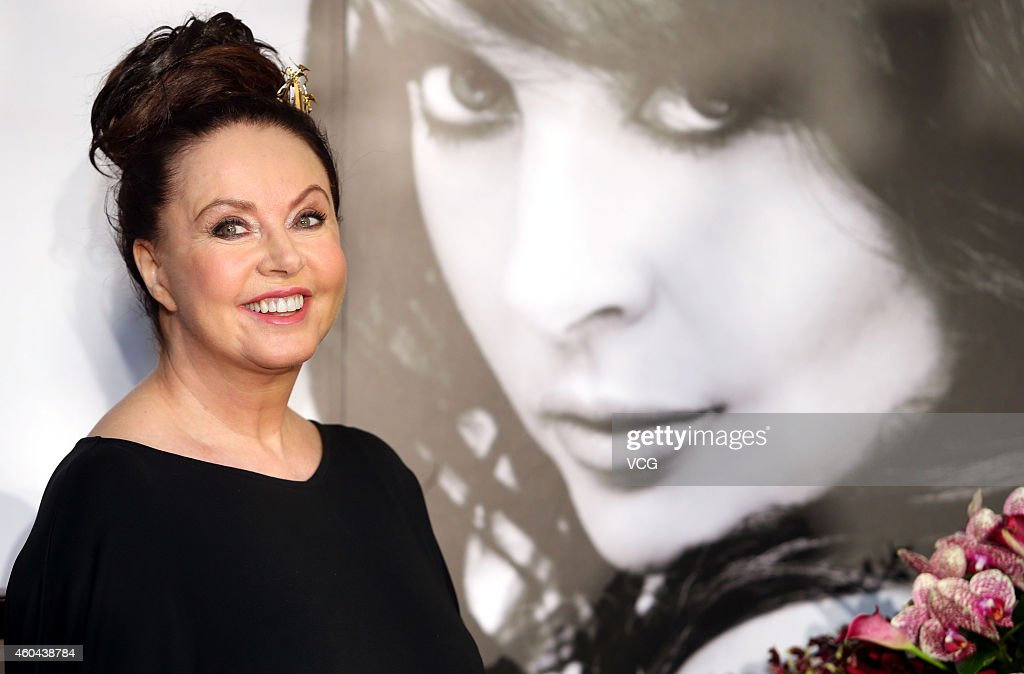 Sarah Brightman Attends Taipei Press Conference