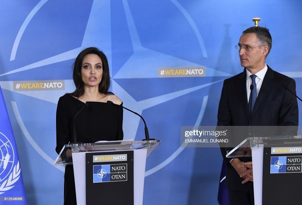 BELGIUM-UN-NATO-DIPLOMACY : News Photo