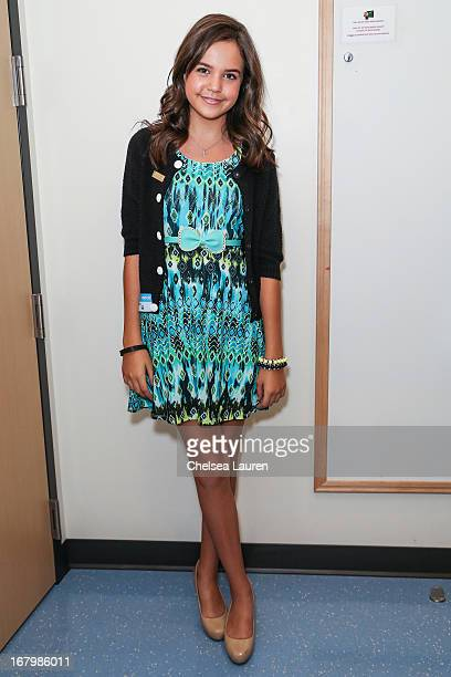 Actress and Starlight Ambassador Bailee Madison attends Starlight Day at Children's Hospital LA at Childrens Hospital Of Los Angeles on May 3 2013 in...