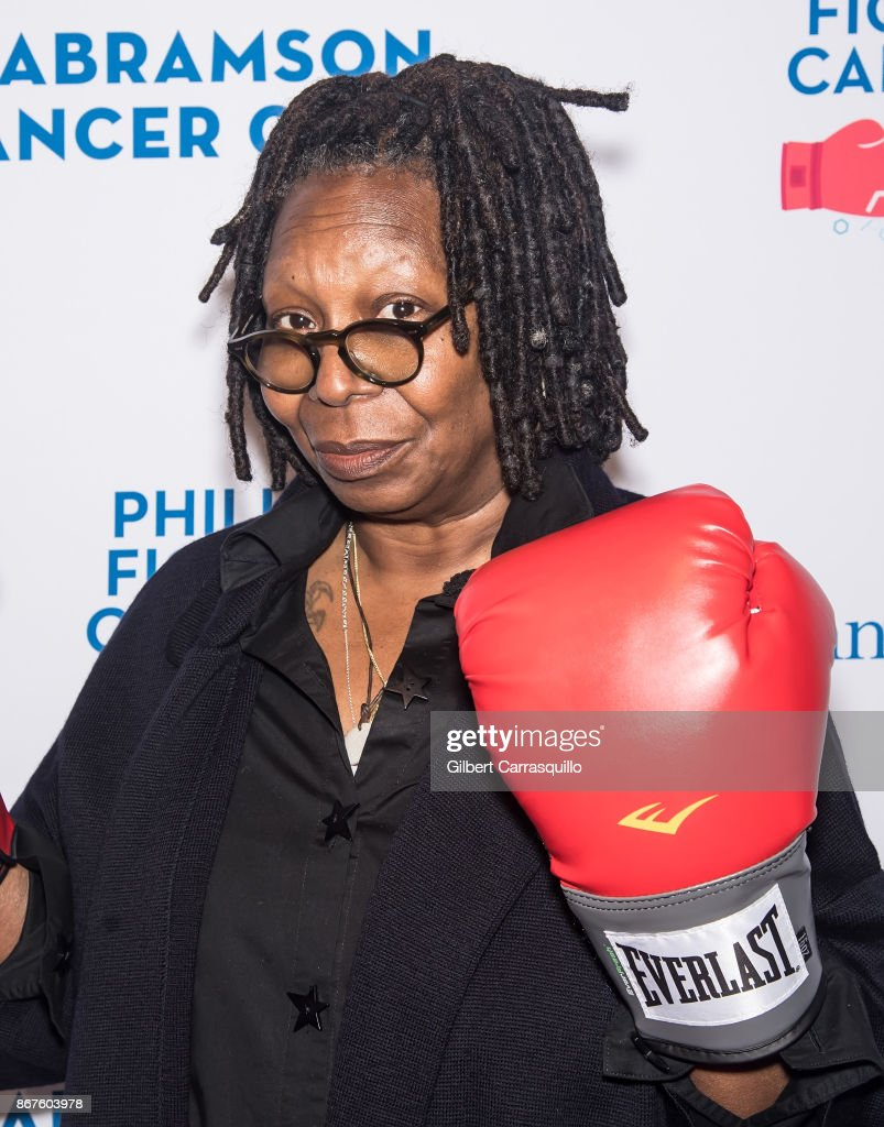 Actress and television host Whoopi Goldberg attends Philly Fights Cancer: Round 3 at The Philadelphia Navy Yard on October 28, 2017 in Philadelphia, Pennsylvania.
