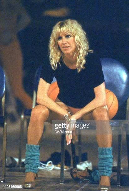 Actress and television star of sitcom Three's Company Suzanne Somers in a fitness class in Los Angeles California in 1980