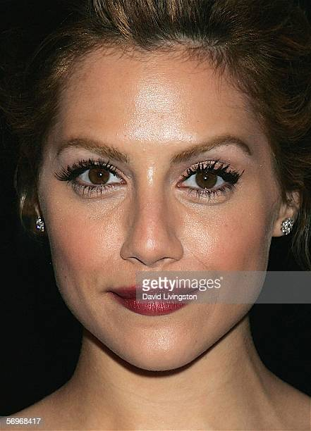 Actress and the evening's host Brittany Murphy poses at the Rodeo Drive Walk of Style event honoring costume designers Edith Head James Acheson and...