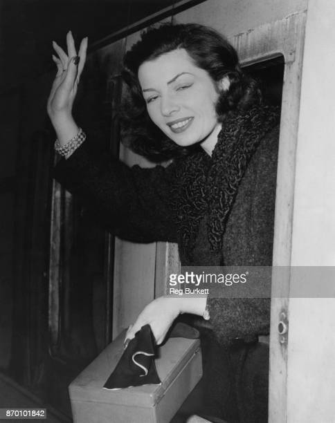 Actress and translator Lucienne Hill leaves Euston Station in London for New York where she will attend the US opening night of her translation of...