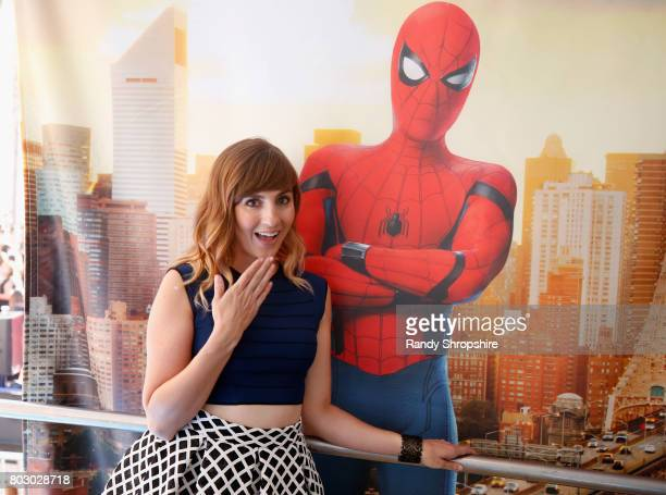 Actress and TV correspondent Alison haislip at the Dell VR Experience at the 'SpiderMan Homecoming' World Premiere at TCL Chinese Theatre on June 28...