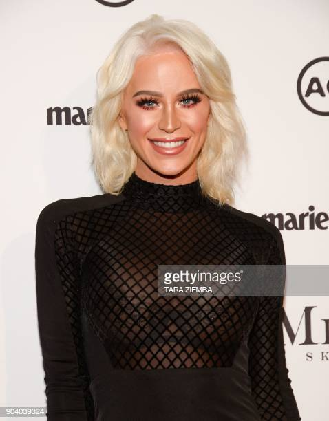 Actress and TV personality Gigi Gorgeous attends Marie Claire's Third Annual Image Makers Awards on January 11 in West Hollywood Los Angeles / AFP...