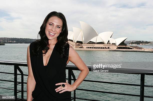 Actress and TV Personality Kate Ritchie poses during the Vaseline Launch at Quay Restaurant The Rocks on July 15 2009 in Sydney Australia