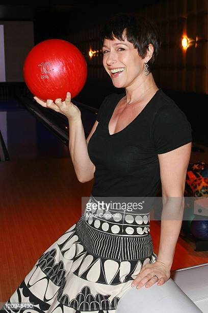 Actress and TV Personality Paige Davis attends The Volunteer's of America's Operation Bowl to kick off Operation Backpack at Lucky Strike on June 15...