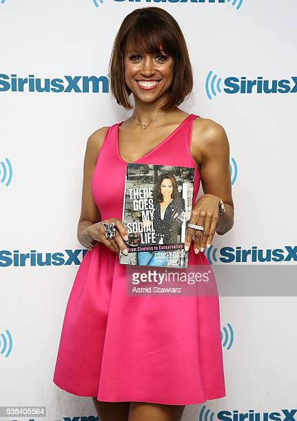 Actress and TV personality Stacey Dash visits the SiriusXM Studios on June 6 2016 in New York City