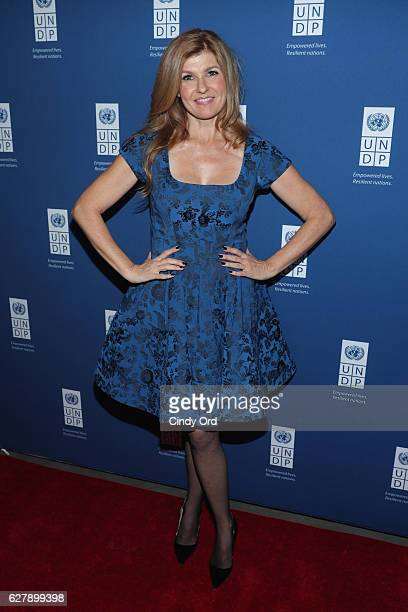 Actress and UNDP Goodwill Ambassador Connie Britton attends the United Nations Development Programme Inaugural Global Goals Gala A Night for Change...