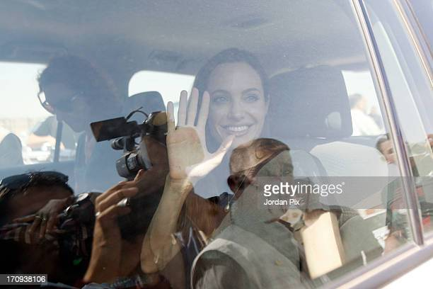 56 Angelina Jolie Attends Unhcr Press Conference Pictures, Photos