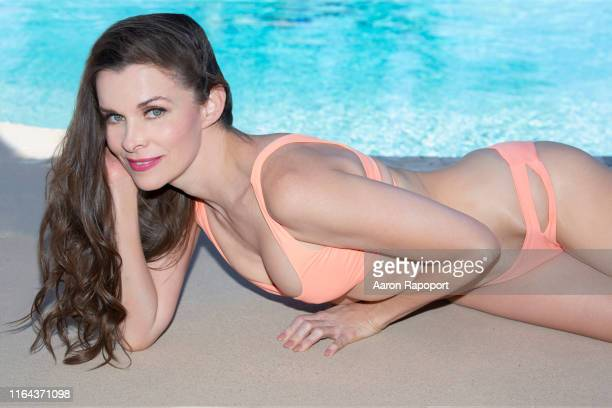 Actress and Victoria Secret model Alicia Arden poses for a portrait in October 2018 in Los Angeles California