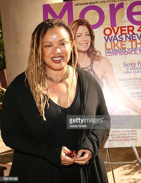 Actress and writer Kasi Lemons at the More Magazine and Women In Film filmmaker luncheon at Chateau Marmont on December 10 2007 in West Hollywood...