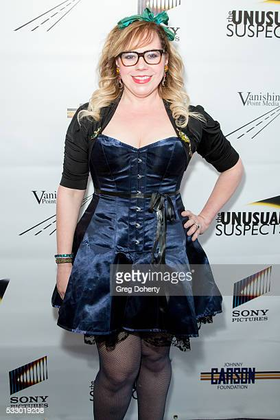 Actress and Writer Kirsten Vagness attends The Unusual Suspects Theatre Company 8th Annual Gala at The Line Hotel on May 19 2016 in Los Angeles...