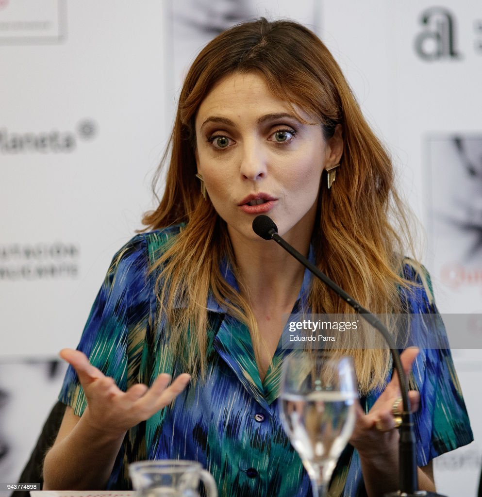 Actress and writer Leticia Dolera attends the 'Quiereme Siempre' book presentation at Intercontinental hotel on April 9, 2018 in Madrid, Spain.