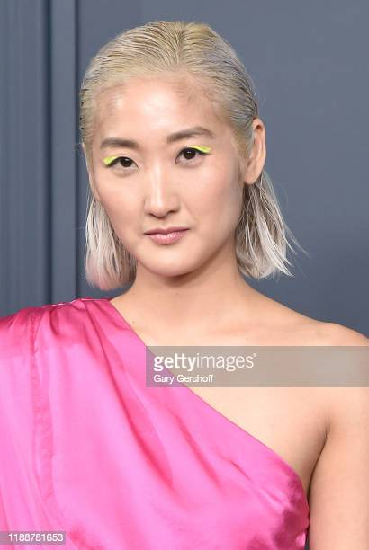 Actress and writer Soojeong Son attends Apple TV's Servant World Premiere at BAM Howard Gilman Opera House on November 19 2019 in New York City