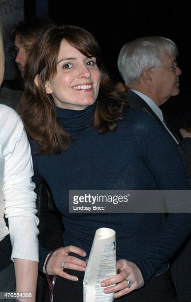 Actress and writer Tina Fey at the Writers Guild East Awards on February 9 2008 in New York City New York