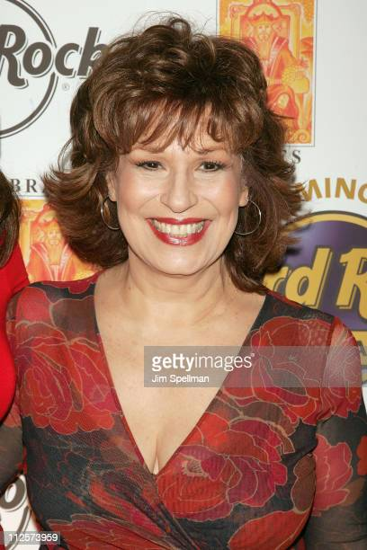 Actress andHost Joy Behar arrives at the Bracco Wines Launch at the Hard Rock Cafe on February 25 2008 in New York City