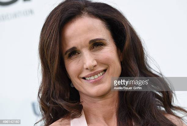 Actress Andie MacDowell attends the 25th annual EMA Awards presented by Toyota and Lexus and hosted by the Environmental Media Association at Warner...