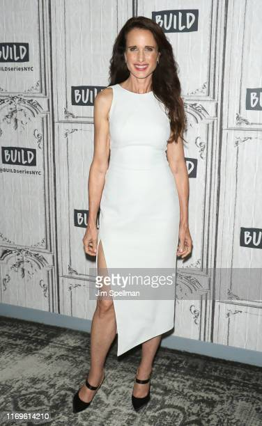 Actress Andie MacDowell attends the Build Series to discuss Ready or Not at Build Studio on August 22 2019 in New York City