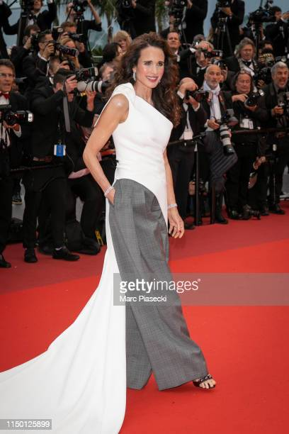 """Actress Andie MacDowell attends the screening of """"Les Plus Belles Annees D'Une Vie"""" during the 72nd annual Cannes Film Festival on May 18, 2019 in..."""