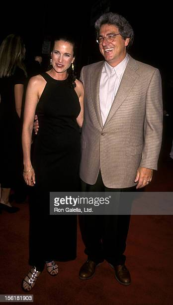 Actress Andie McDowell and director Harold Ramis attend the premiere of 'Multiplicity' June 27 1996 at the Ziegfeld Theater in New York City