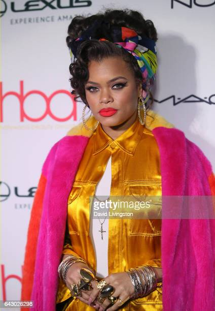 Actress Andra Day attends the 3rd Annual Hollywood Beauty Awards at Avalon Hollywood on February 19 2017 in Los Angeles California
