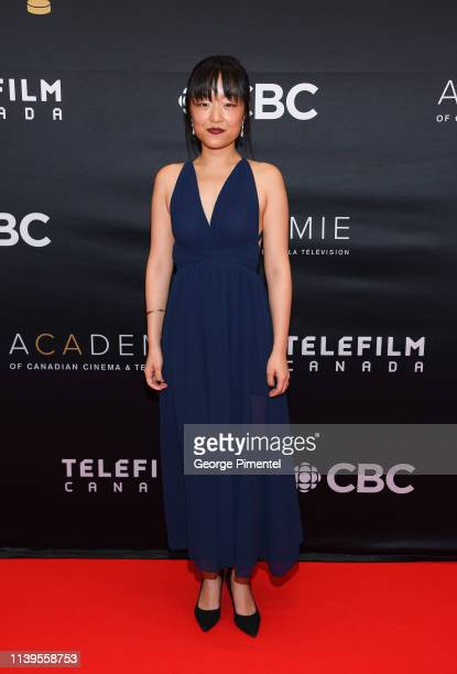 Actress Andrea Bang attends the 2019 Canadian Screen Awards Broadcast Gala at Sony Centre for the Performing Arts on March 31, 2019 in Toronto,...