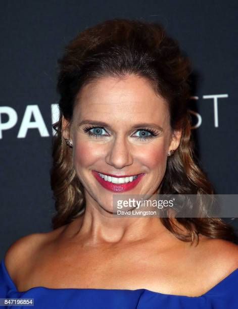 Actress Andrea Barber attends The Paley Center for Media's 11th Annual PaleyFest fall TV previews Los Angeles for Netflix's 'Fuller House' at The...