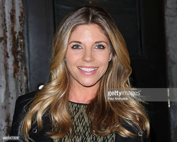 Actress Andrea Bogart attends the 2nd annual Hollywood Heals spotlight on Tourette Syndrome at House of Blues Sunset Strip on March 5 2015 in West...