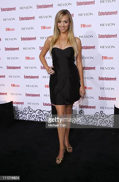 Actress Andrea Bowen arrives at the Entertainment Weekly's 5th Annual Pre-Emmy Party at Opera and Crimson on September 15, 2007 in Hollywood,...