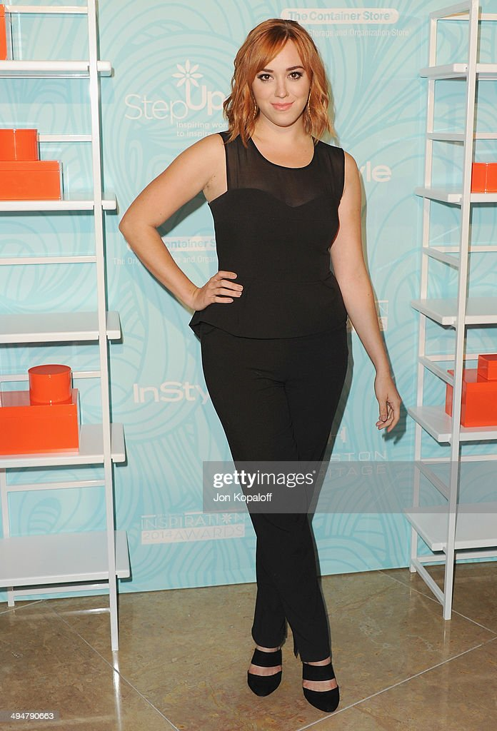 Actress Andrea Bowen arrives at the Step Up 11th Annual Inspiration Awards at The Beverly Hilton Hotel on May 30, 2014 in Beverly Hills, California.