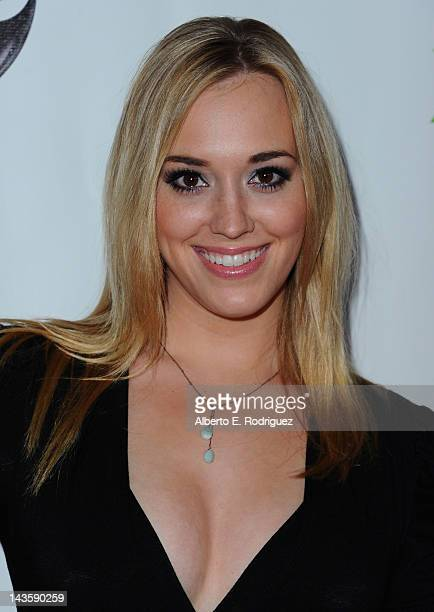 Actress Andrea Bowen arrives to the Series Finale of ABC's 'Desperate Housewives' at W Hollywood on April 29 2012 in Hollywood California