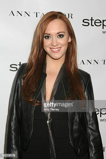 Actress Andrea Bowen attends the Step Up Women's Network Event at Pacific Design Center on November 18 2009 in West Hollywood California
