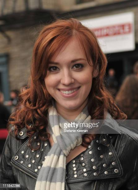 Actress Andrea Bowen attends Variety's 3rd annual Power of Youth event held at Paramount Studios on December 5 2009 in Los Angeles California