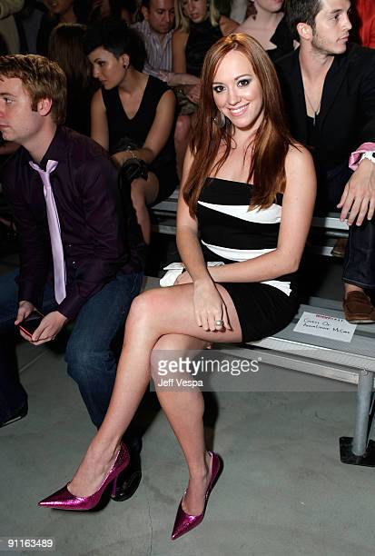Actress Andrea Bowen during the 7th Annual Teen Vogue Young Hollywood Party held at Milk Studios on September 25 2009 in Hollywood California