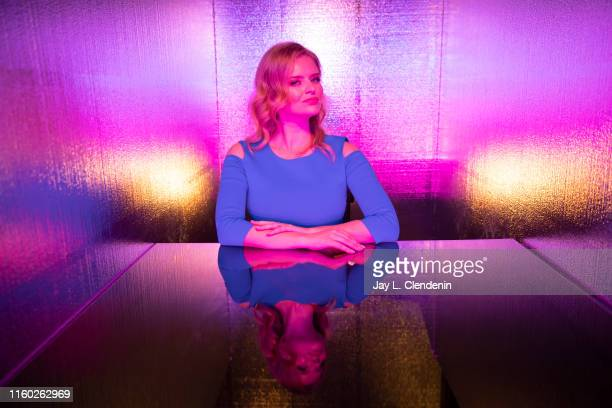 Actress Andrea Brooks of 'Supergirl' is photographed for Los Angeles Times at ComicCon International on July 20 2019 in San Diego California...