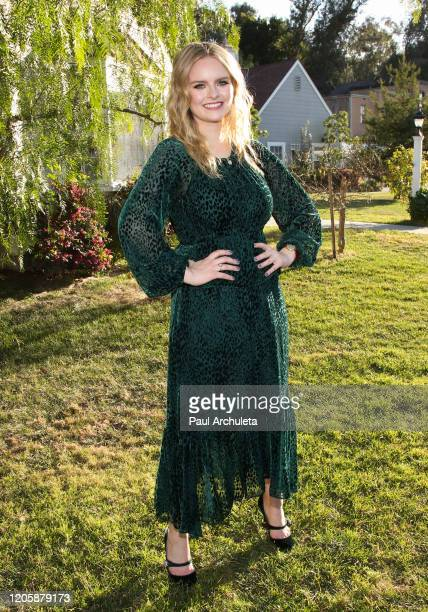 "Actress Andrea Brooks visits Hallmark Channel's ""Home & Family"" at Universal Studios Hollywood on February 12, 2020 in Universal City, California."