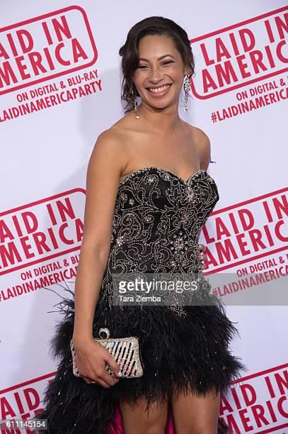 Actress Andrea Covington attends the premiere of 'Laid In America' at AMC Universal City Walk on September 28 2016 in Universal City California