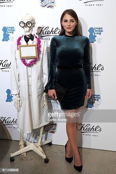 Actress Andrea Duro attends 'Kiehl's Since 1851' 10th anniversary with a Charity Project party on September 29 2016 in Madrid Spain