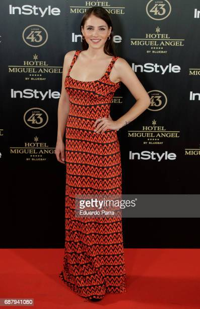 Actress Andrea Duro attends the 'El Jardin del Miguel Angel' party photocall at Miguel Angel hotel on May 24 2017 in Madrid Spain