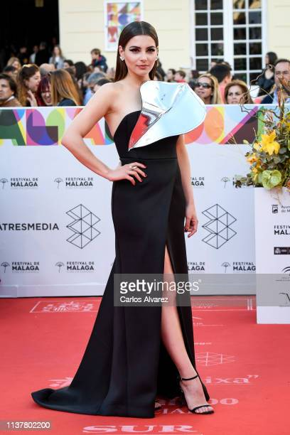 Actress Andrea Duro attends the Malaga Film Festival 2019 closing day gala at Cervantes Theater on March 23 2019 in Malaga Spain