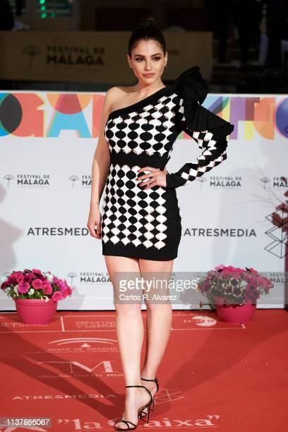Actress Andrea Duro attends the 'Retrospeciva' award ceremony during the 22th Malaga Film Festival on March 22 2019 in Malaga Spain