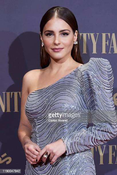 Actress Andrea Duro attends the Vanity Fair awards 2019 at the Royal Theater on November 25 2019 in Madrid Spain