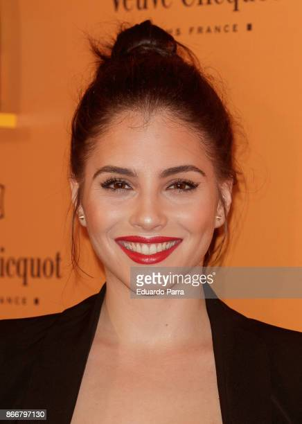 Actress Andrea Duro attends the 'Yelloween party' photocall at Gran Maestre theatre on October 26 2017 in Madrid Spain
