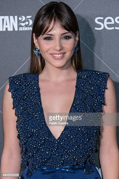 Actress Andrea Duro attends VIII Cosmopolitan Fun Fearless Female Awards at Ritz hotel on October 27 2015 in Madrid Spain