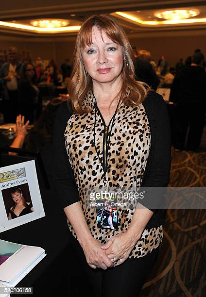 Actress Andrea Evans at the The Hollywood Show held at Westin LAX Hotel on April 9 2016 in Los Angeles California